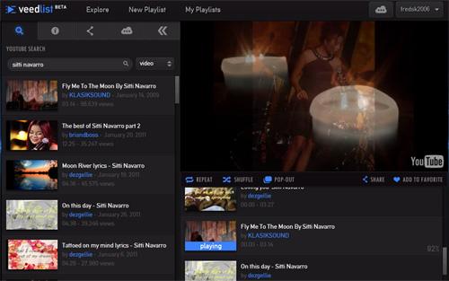 YouTube-Powered VeedList Lets You Create Custom YouTube Playlists