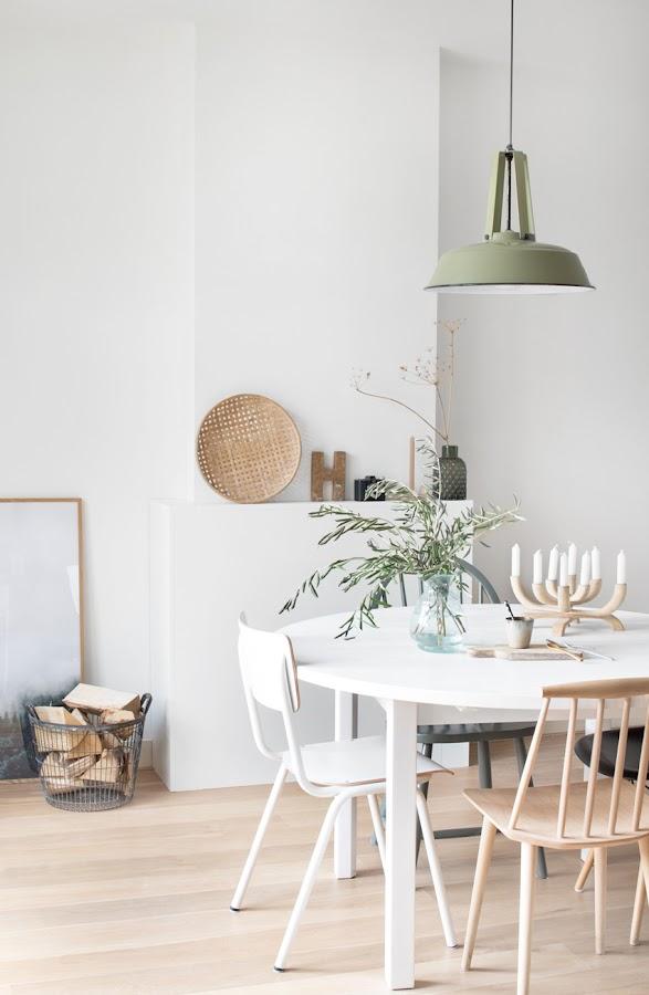 sillas vintage en estilo nórdico