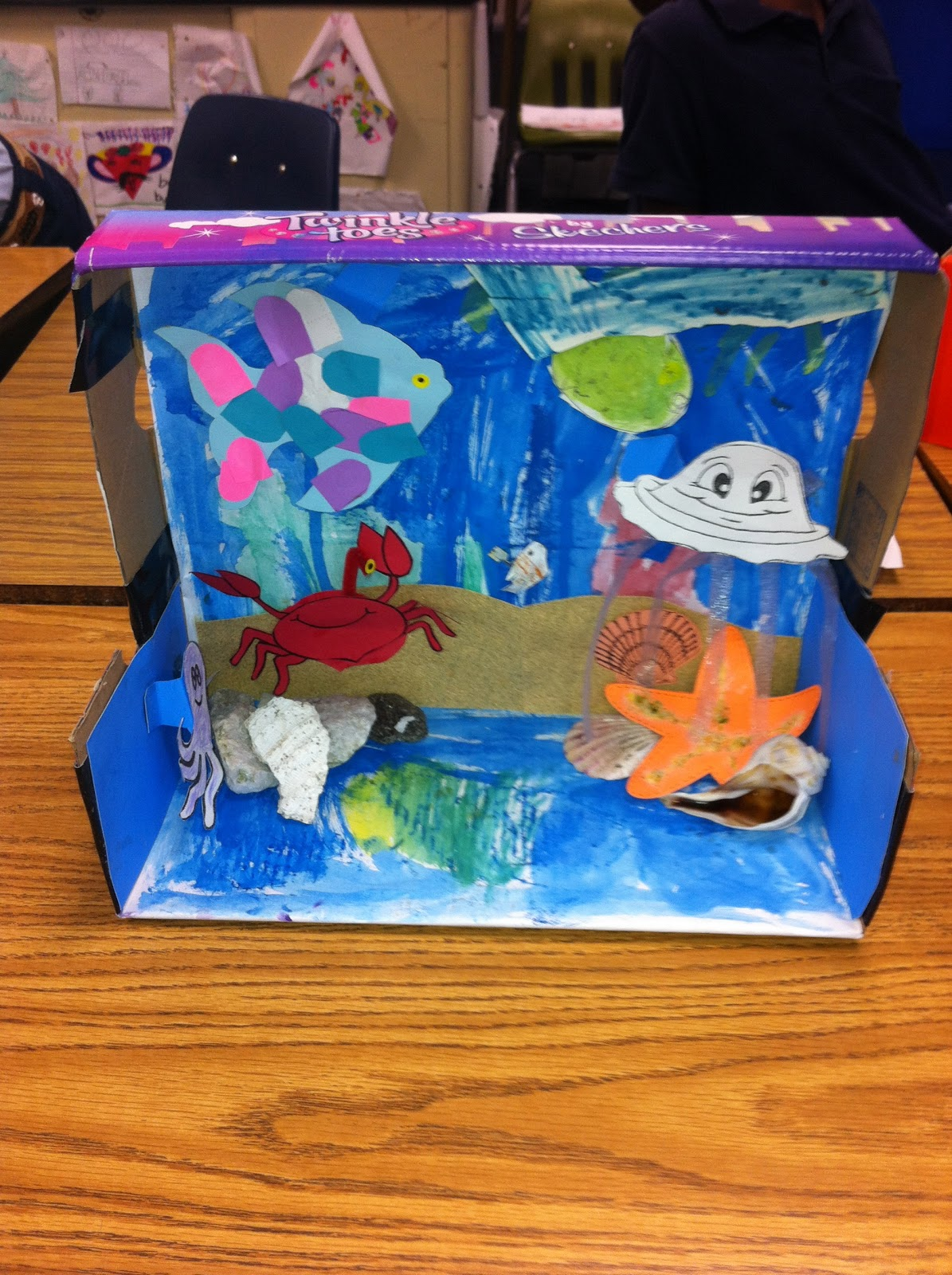 Mrs Wood S 3rd Grade Class Sharing Our Habitat Projects