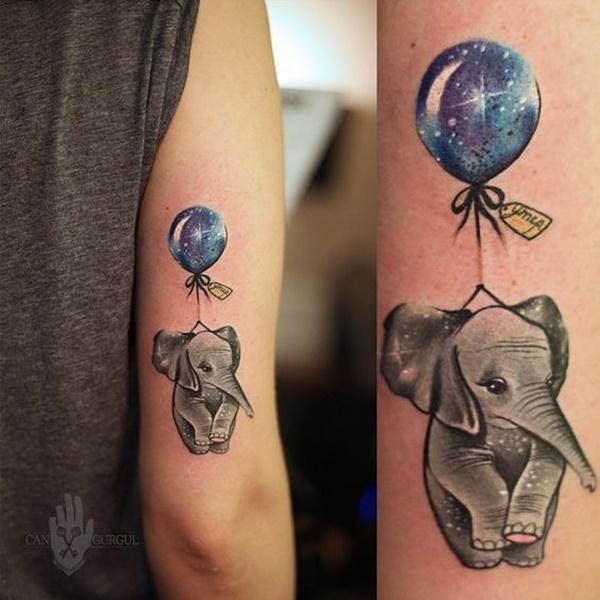 Elephant Tattoos 30 Alucinantes Tatuajes De Elefantes
