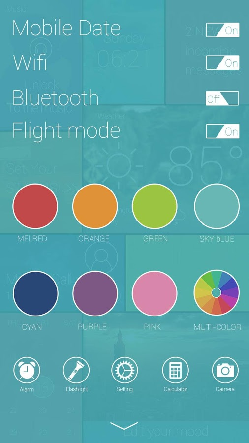 GO Locker Themes | ColorBox GO Locker Theme For Android Free