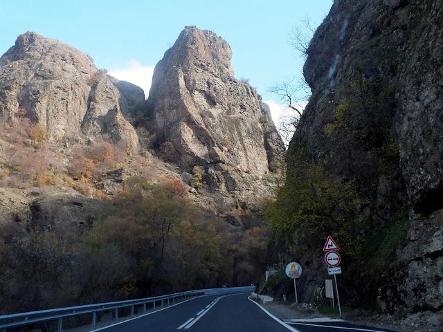 En coche al Monasterio de Rila