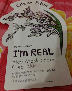 Tony Moly Sheet Mask varian Rice