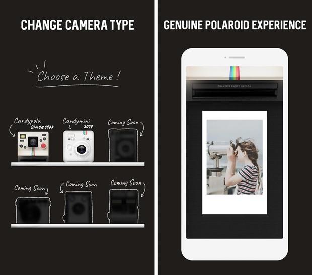 Aplicativo vintage e retrô para fotos e vídeos - InstaMini – Instant Cam, Retro Cam