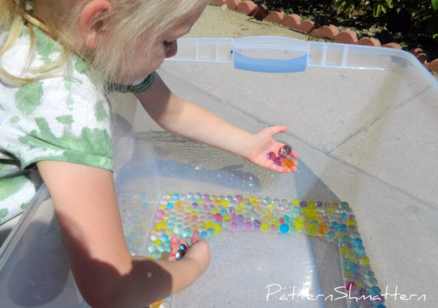 Pattern Shmattern Playing With Water Marbles