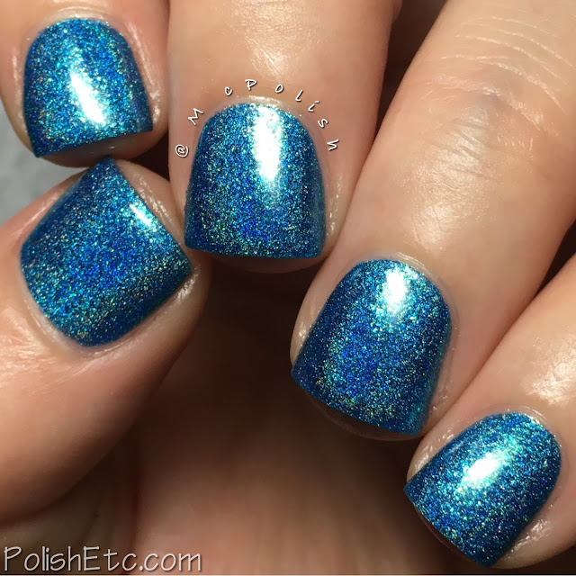 Road to Polish Con - Week 5 - McPolish - Mystic Blue by Cupcake Polish