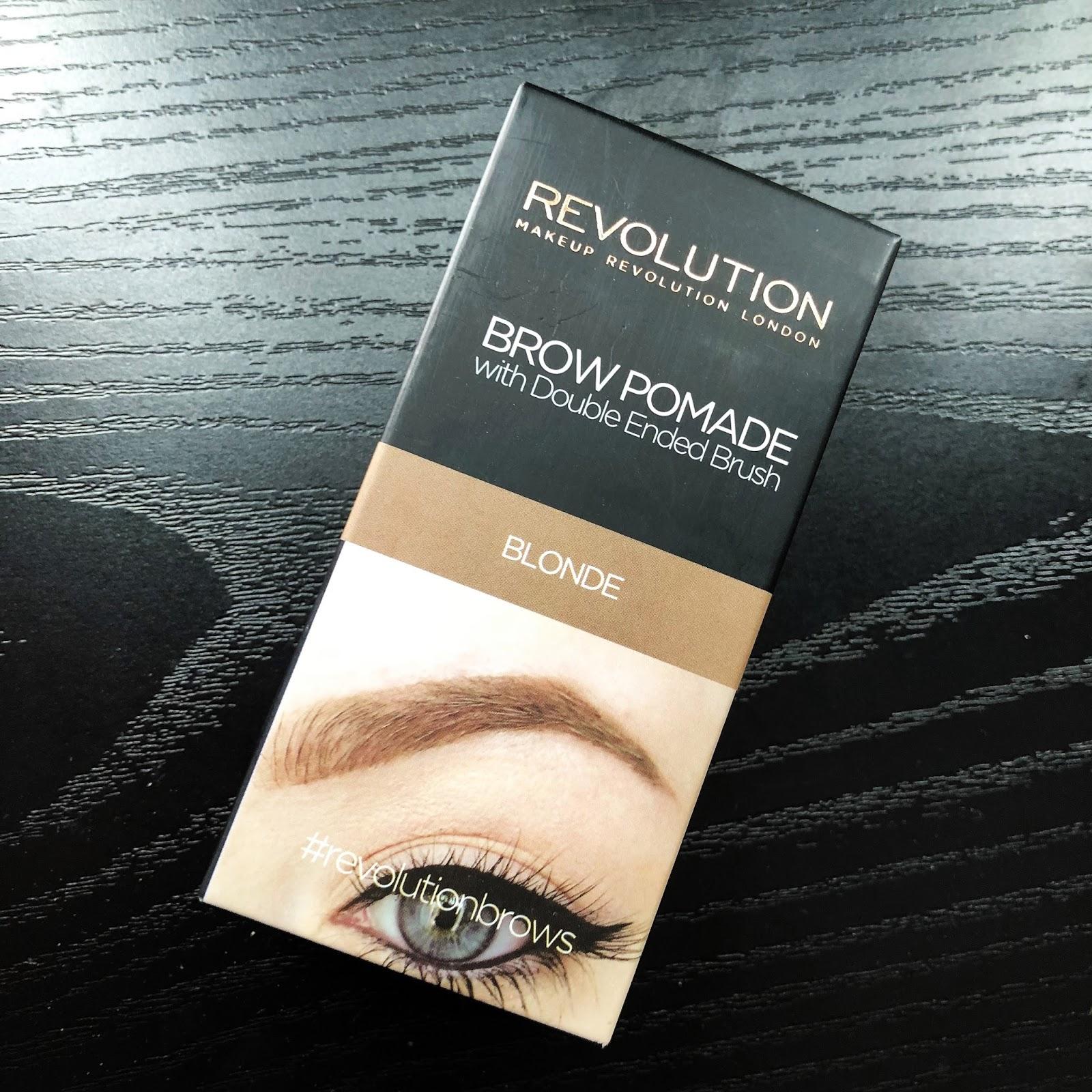 Pomada Do Brwi Makeup Revolution Recenzja Uroda Zblogowani