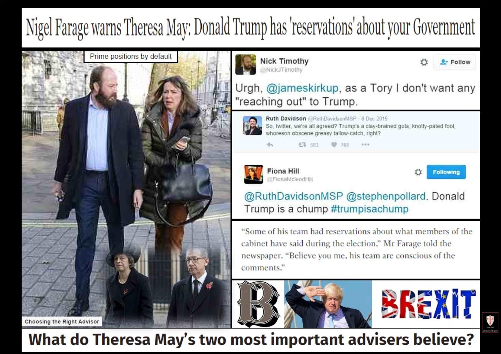 Lionheart: British PM & Her choice of political advisors