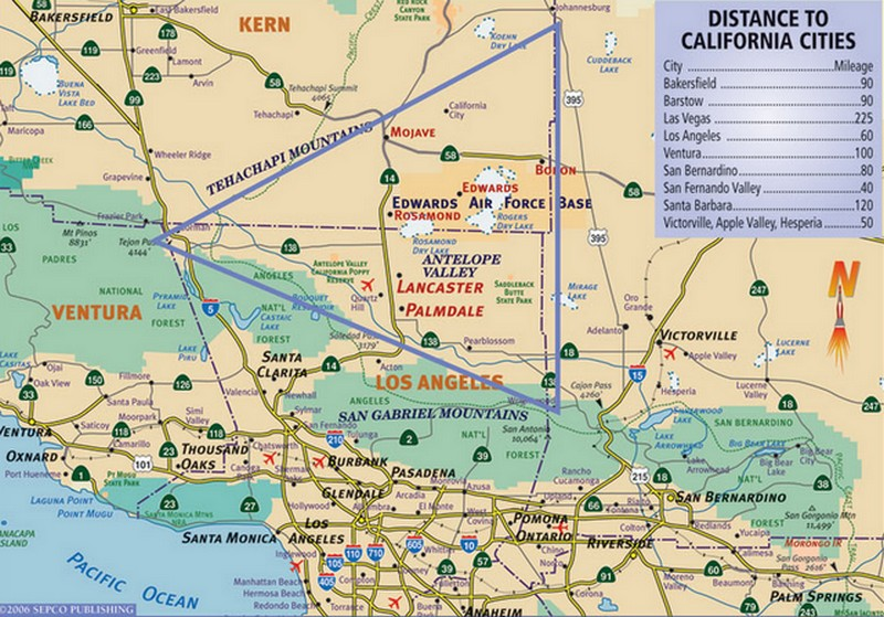 Antelope Valley Map ATTORNEY SERVICES of ANTELOPE VALLEY: MAPS Antelope Valley Map