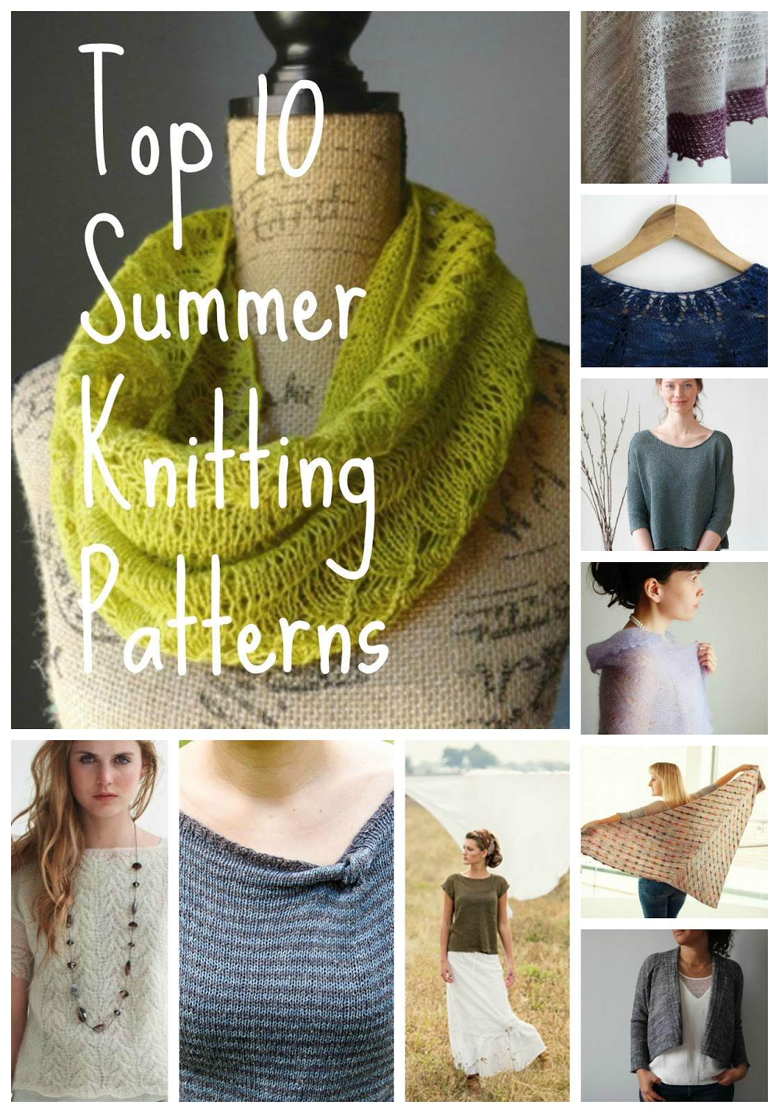 Summer Knitting Patterns : littletheorem: Top Ten Summer Knitting Patterns