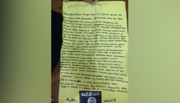 Pemasang Bendera ISIS Ancam akan Bikin Jakarta seperti Marawi