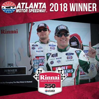 Kevin Harvick Wins Rinnai 250 - #NASCAR