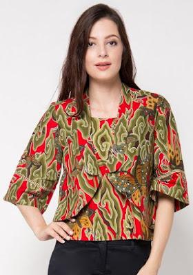 model baju batik wanita danar hadi