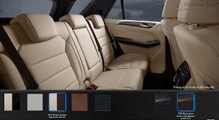 Nội thất Mercedes GLE 400 4MATIC Exclusive 2016 màu Vàng Ginger/Đen 245