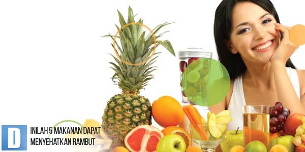 Penyehat Rambut, Perawatan Rambut Alami, Makanan Penyubur Rambut, Vitamin Rambut Alami
