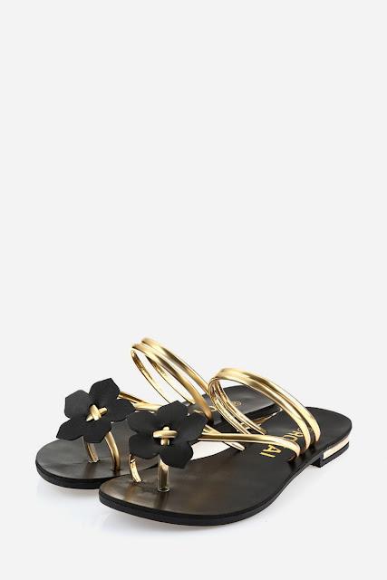 Floral Flip-flop Beach Sandals