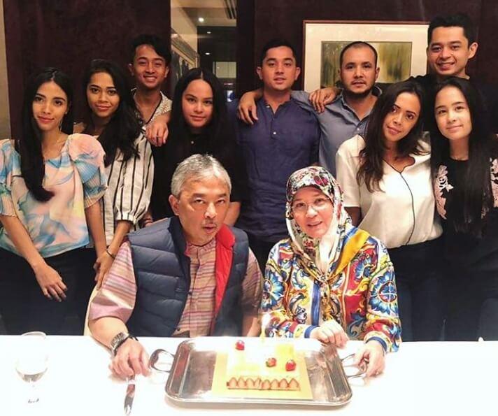 Keluarga Tengku Abdullah