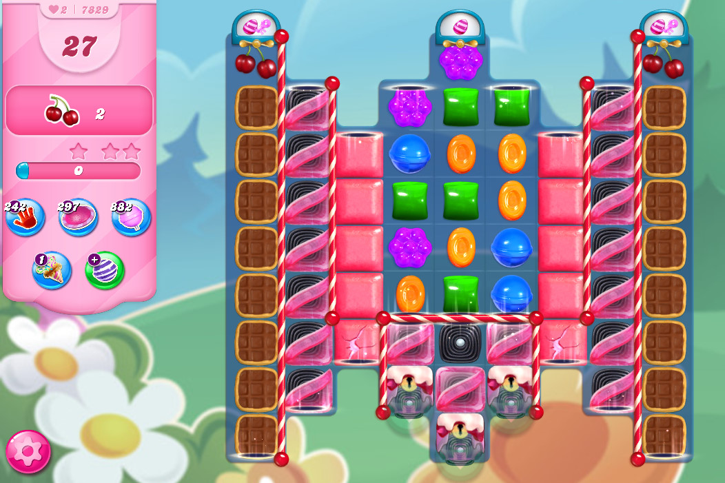 Candy Crush Saga level 7829