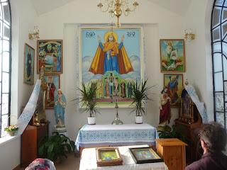 Страдч. Каплиця на Церковній горі та образ Божої Матері Нерушима Стіна