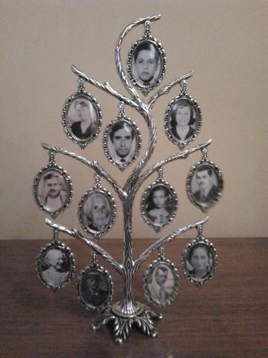 Genes de familia julio 2012 - Cuadros con fotos familiares ...