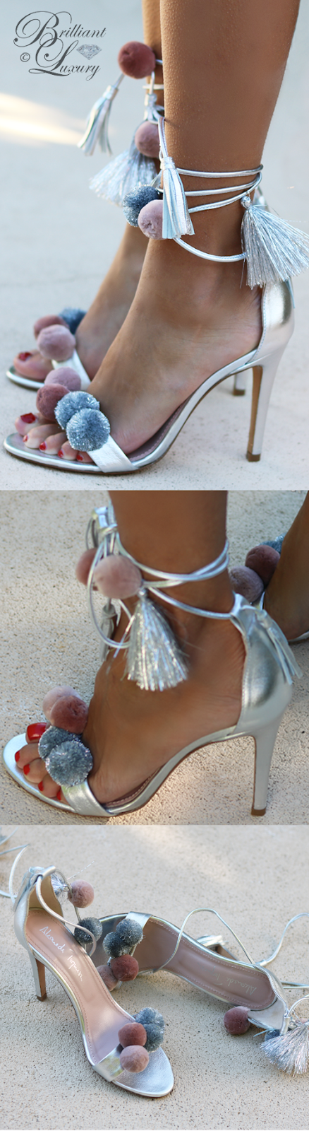 Brilliant Luxury ♦ Alameda Turquesa Anna sandals silver
