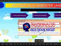 Aplikasi Nilai Semester (Animaster) Format Terbaru Lengkap Excel