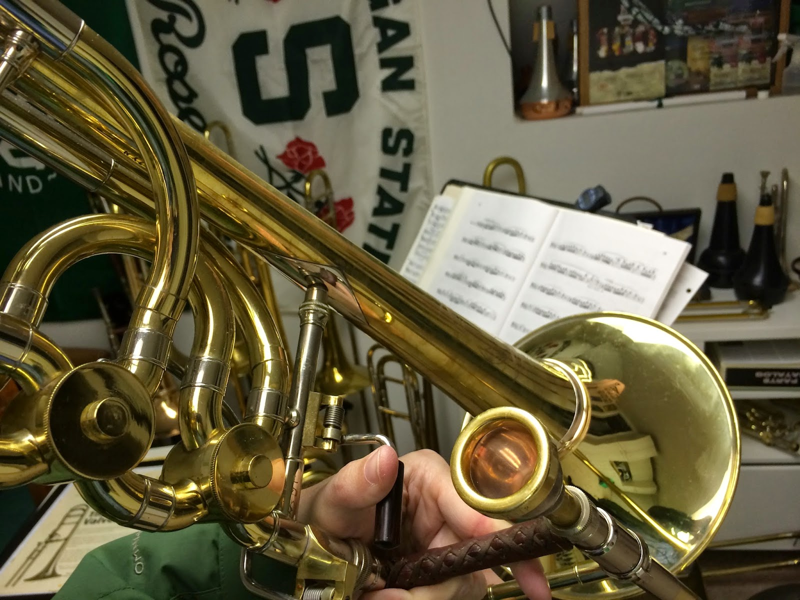 Barrels and Stockings: New Trombone Parts