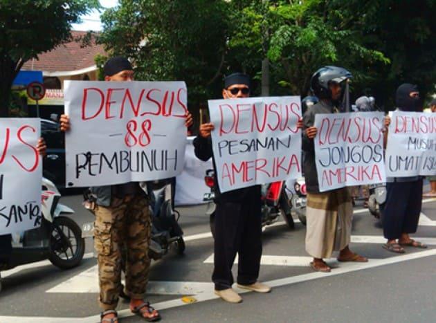 Terbukti Bantai Umat Islam, Anggota Densus 88 Diperiksa