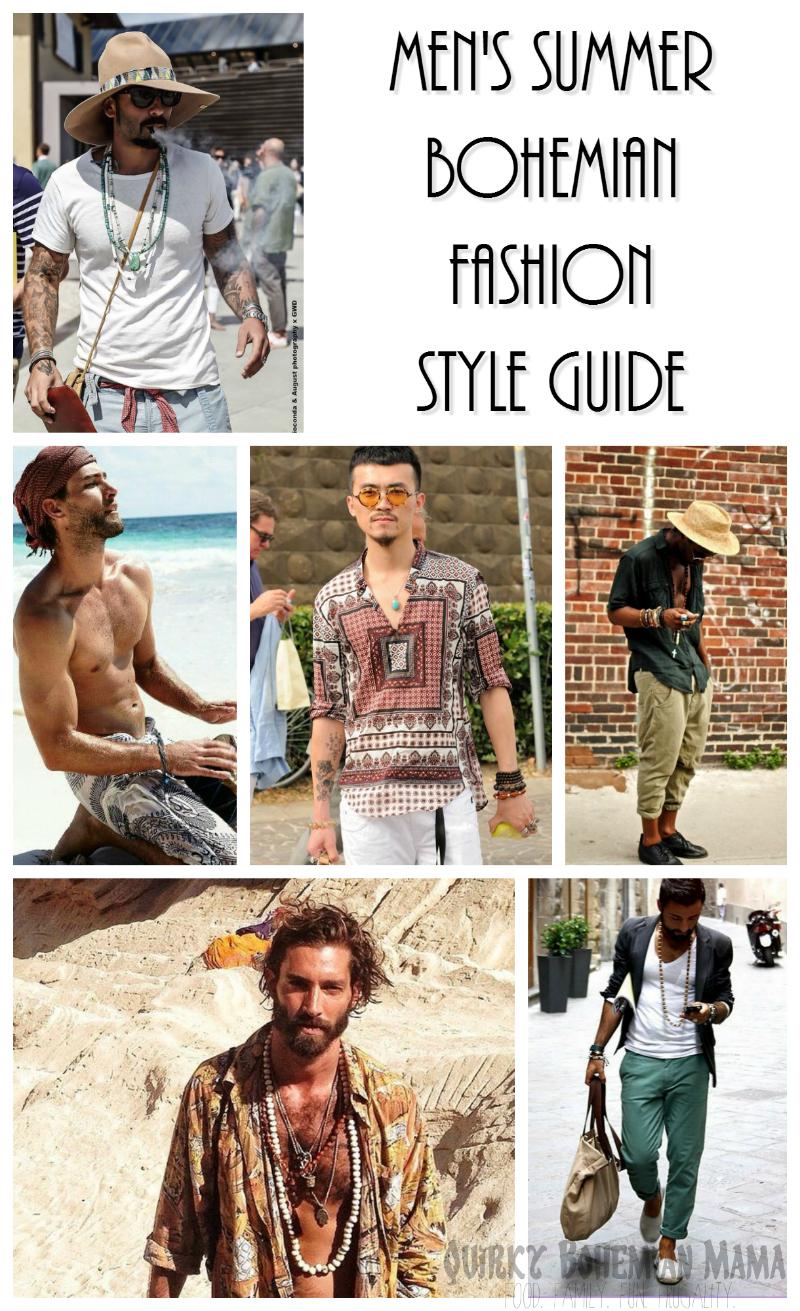 Quirky Bohemian Mama - A Bohemian Mom Blog  Men s Bohemian Fashion ... 1046d48ca20