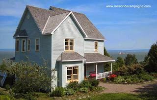 Casa de campo en Québec Canadá