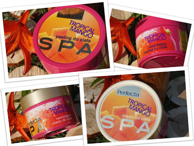 Owocowe SPA dla ciała - peeling i masło Tropikalne mango Perfecta
