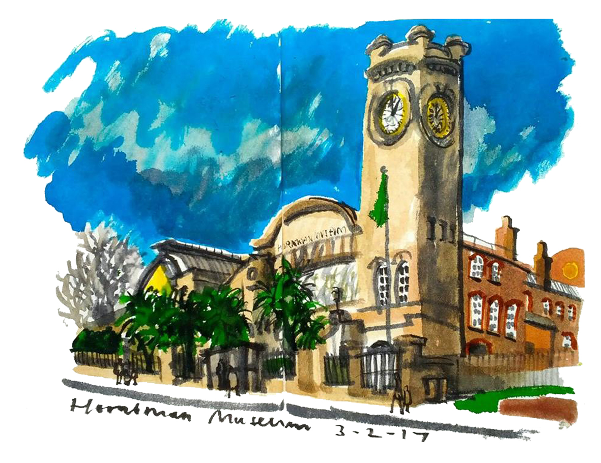 Horniman museum gardens - Let S Draw The Horniman Museum And Gardens Saturday 25 March 2017