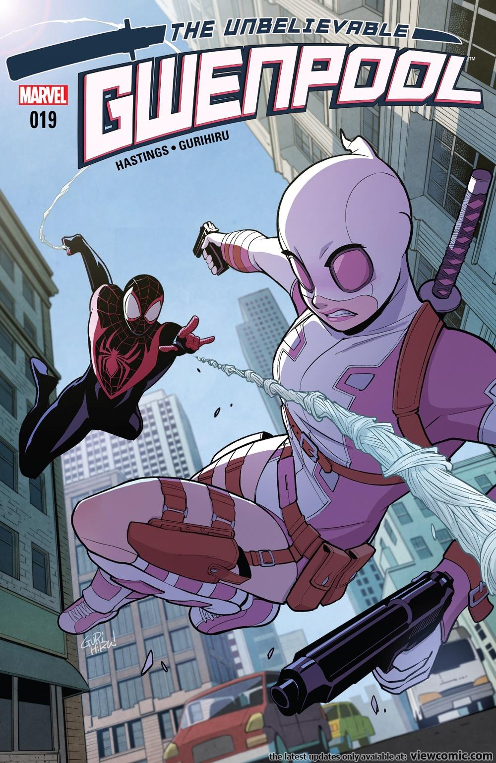 The Unbelievable Gwenpool 019 (2017)  | Vietcomic.net reading comics online for free