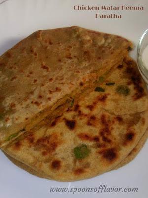 Chicken-Matar-Keema-Paratha-Recipe