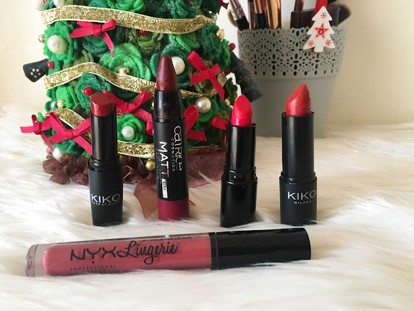My Top 5 Festive Red Lipsicks