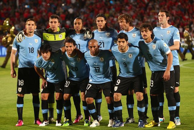 Formación de Uruguay ante Chile, Clasificatorias Brasil 2014, 26 de marzo de 2013