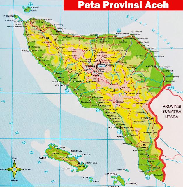 Aceh merupakan tempat istimewa yang secara resmi disebut Nanggroe Aceh Darussalam atau di Letak Geografis Provinsi Aceh