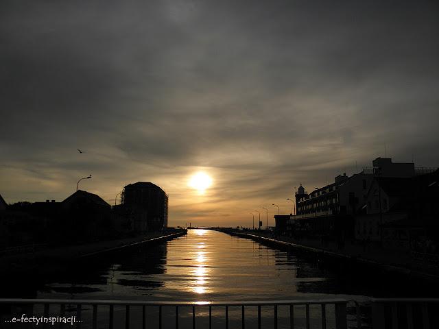 wakacje, podróż, morze, Morze Bałtycki, plaża, chwila relaksu, odpoczynek, moje podróże, zachód słońca, efectyinspiracji