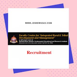 RKMVERI Recruitment 2019 for Non-Teaching Staffs