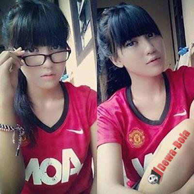 gadis bola MU terbaik versi dewa bola net club