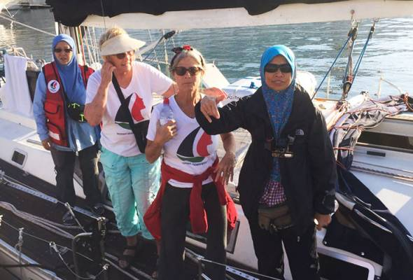 Women's Boat to Gaza