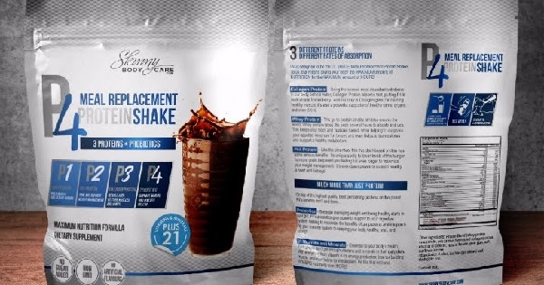 P4 Protein Shake - Best Powder Meal Replacement Drink