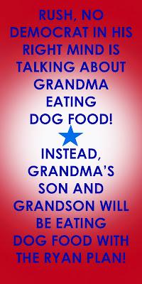 Rush Limbaugh Dog Food
