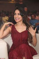 Pragya Jaiswal in Stunnign Deep neck Designer Maroon Dress at Nakshatram music launch ~ CelebesNext Celebrities Galleries 100.JPG