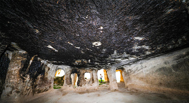"""Anadolu'nun en eski mağara yerleşim yerlerinden """"Hasuni Mağaraları"""""""