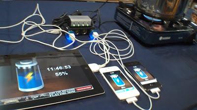 Panci ajaib untuk charge baterai handphone