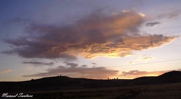 Sillustani, tramonto