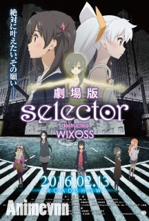 Selector Destructed WIXOSS Movie -  2016 Poster