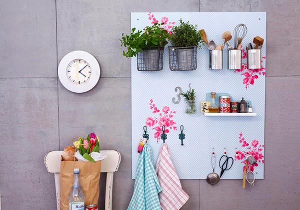 Twelve Inspiring DIY Projects - DIY Board kitchen organiser