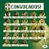 Tite anuncia convocação da Seleção Brasileira para a Copa 2018